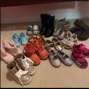 Other - Bundle of Toddler girl shoes